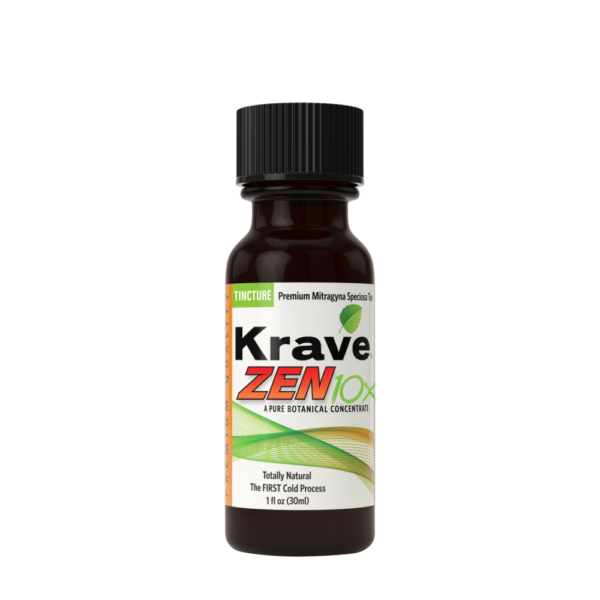 Krave Kratom Tincture Concentrate