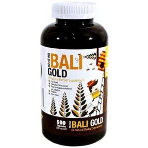 Bumble Bee Kratom Bali Gold Capsules