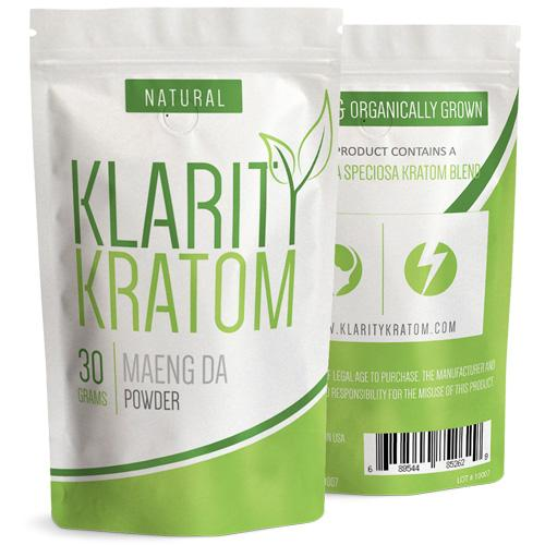 Klarity Kratom Maeng Da Powder
