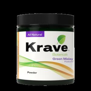 Krave Kratom Green Malay Powder