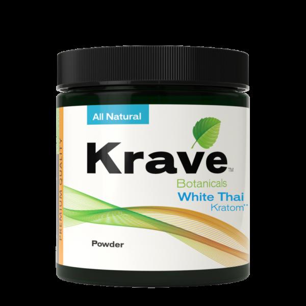 Krave Kratom White Thai Powder
