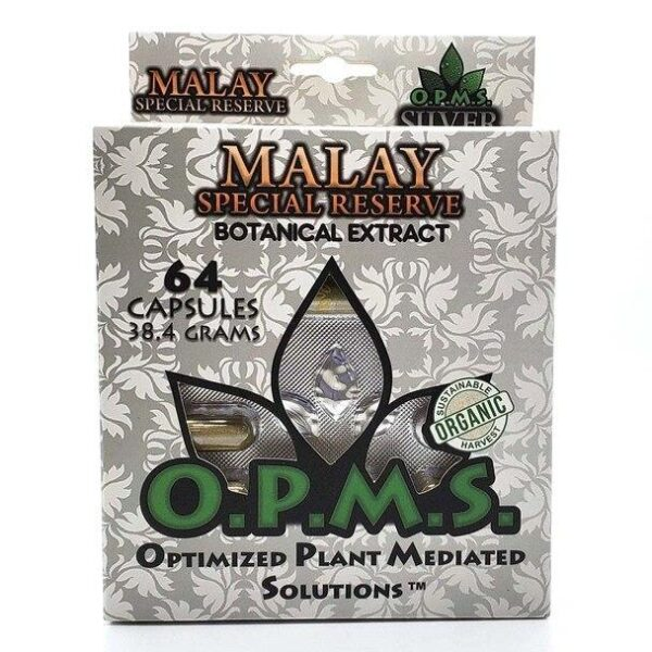 OPMS Malay Silver Special Reserve Capsules - 64 Capsules