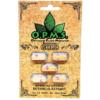 OPMS Gold Kratom Capsules - 5 Pack