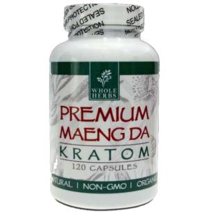 Whole Herbs Maengda Kratom Capsules