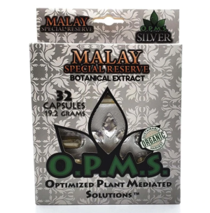 OPMS Malay Silver Special Reserve Capsules - 32 Capsules