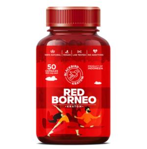 Blackbird Red Borneo Kratom Capsules