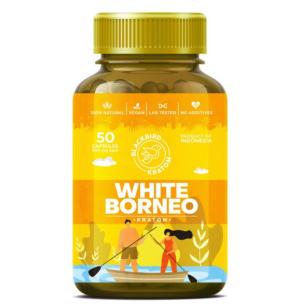 Blackbird White Borneo Kratom Capsules