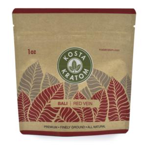 Kosta Kratom Bali Red Vein Powder