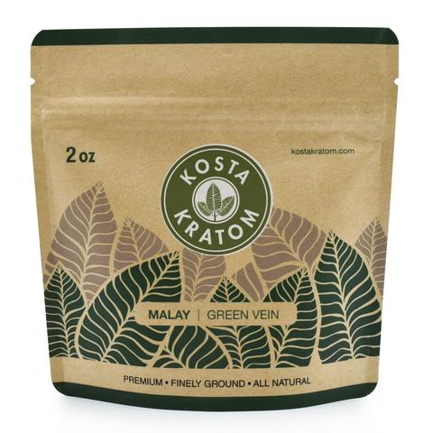 Kosta Kratom Green Vein Malay Powder
