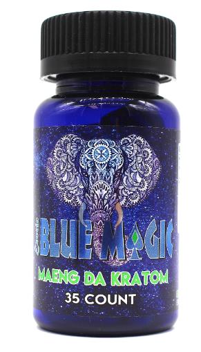 Blue Magic Maeng Da Kratom Capsules