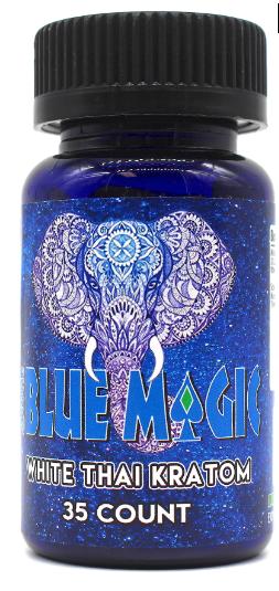 Blue Magic White Thai Kratom Capsules