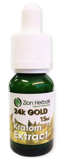 Zion Herbals 24K Gold Liquid Kratom Extract