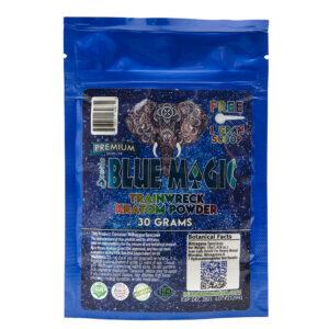 Blue Magic Trainwreck Kratom Powder