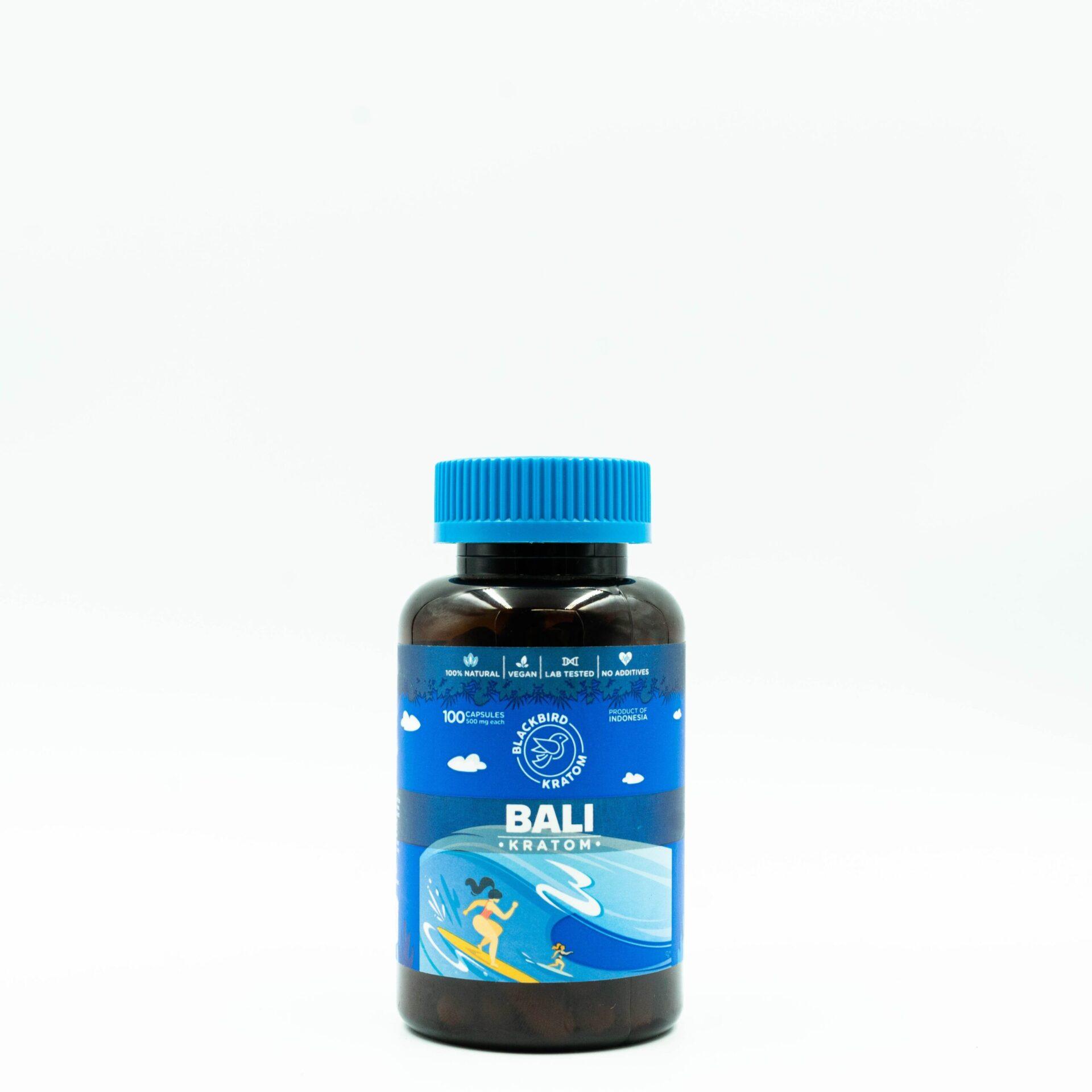 Blackbird Bali Kratom Capsules