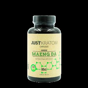 Just Kratom Green Maeng Da Capsules