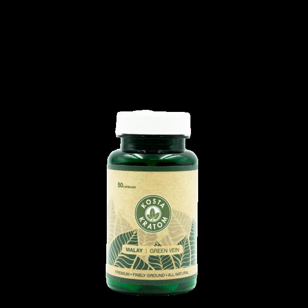 Kosta Kratom Green Vein Malay Capsules