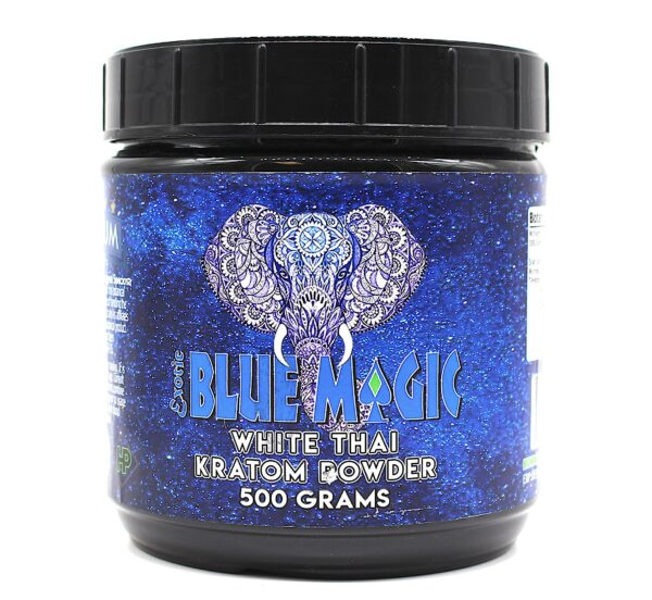 Blue Magic White Thai Kratom Powder