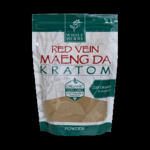 Whole Herbs Red Vein Maeng Da Kratom Powder