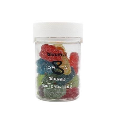 Bluum Lab Delta 8 Gummies (20 PCS, 10MG Per Piece)
