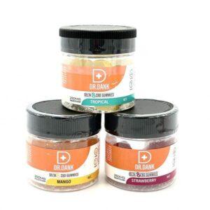 Dr. Dank Delta 8 Gummies (10PCS, 25MG Per Piece)