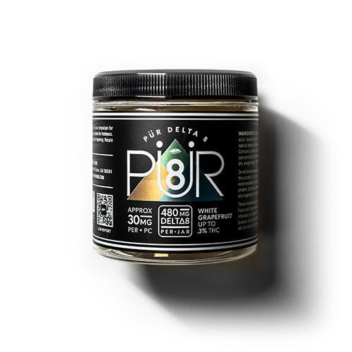 Pur Delta 8 Gummies (8PCS, 30MG Per Piece)