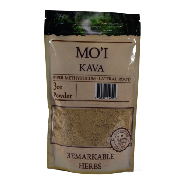 Remarkable Herbs Mo`I Kava Lateral Root Powder