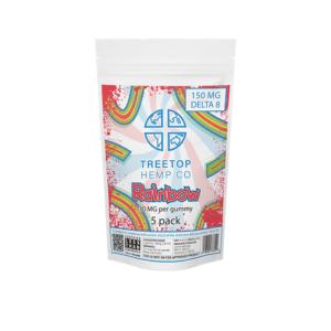 Tree Top - Delta 8 Vegan Gummies (10PCS / 25MG Per Piece)
